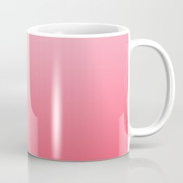 Ombre Pink Rose Gradient Pattern Coffee Mug