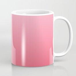 Ombre Pink Rose Gradient Pattern Coffee Mug