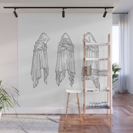 invisible souls in visible bodies Wall Mural