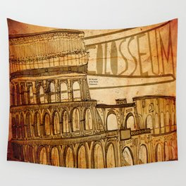 Colosseum  Wall Tapestry
