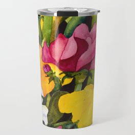 Sweet Peas Travel Mug