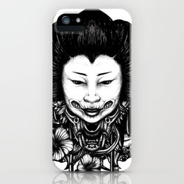 Gueisha iPhone Case
