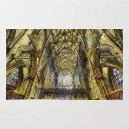 York Minster Van Gogh Style Rug