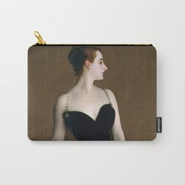 Portrait of Madame X by John Singer Sargent - Vintage Fine Art Oil Painting Carry-All Pouch