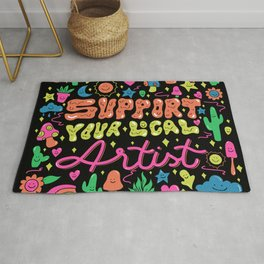 Support Your Local Artist Rug