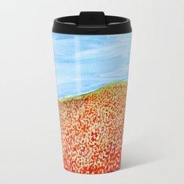 Poppy Field Travel Mug