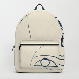 Abstract Face 5 Backpack