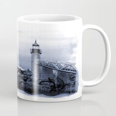 Lighthouse, Marshall Point, Maine Mug