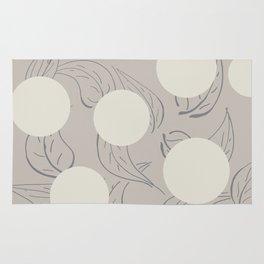 Polka dot flower Rug