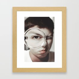 Be Magnified Framed Art Print