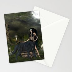 The awesome wolf Stationery Cards