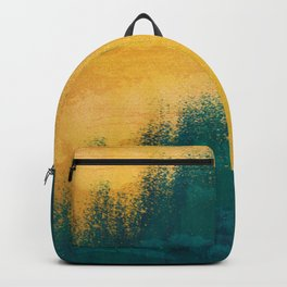Gold Rush Peacock Backpack