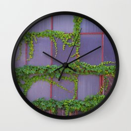 Over Grown Grand Haven Wall Clock