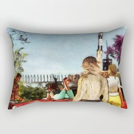 SUMMER OF '69 Apollo 11 Moon Mission Launch Rectangular Pillow