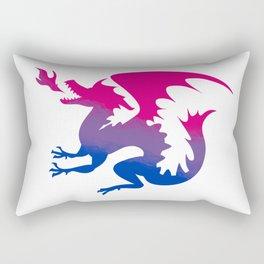 Bi Dragon Rectangular Pillow
