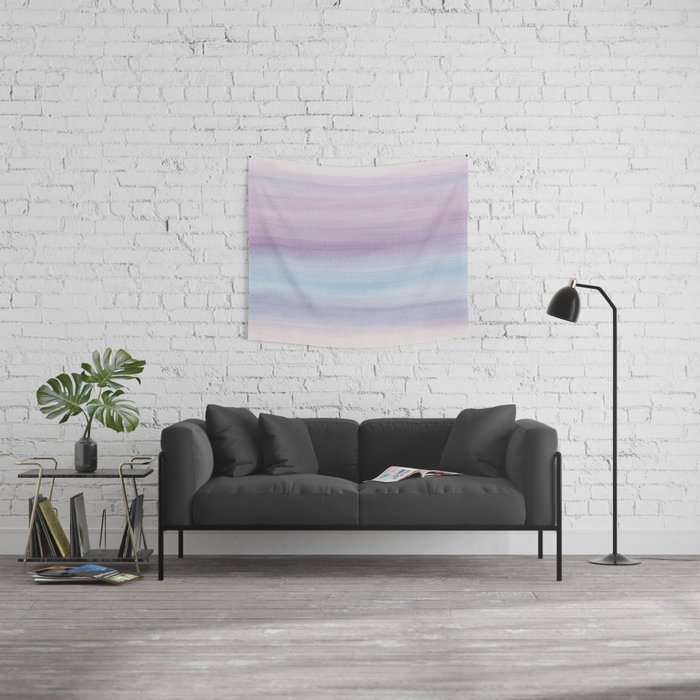 Pastel Watercolor Dream #1 #painting #decor #art #society6 Wall Tapestry