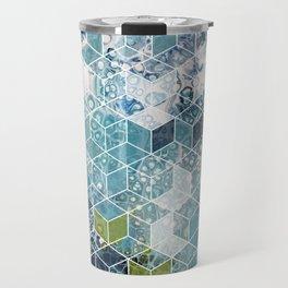 Ocean cubes Travel Mug