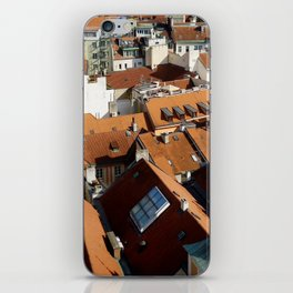 Roofs of Prague iPhone Skin