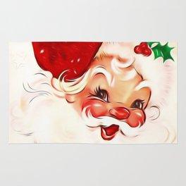 Vintage Santa 4 Rug