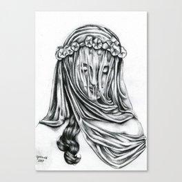 Miss Interpretation Canvas Print