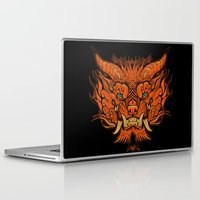 foo fighters Laptop & iPad Skins featuring Foo Dog by missmonster
