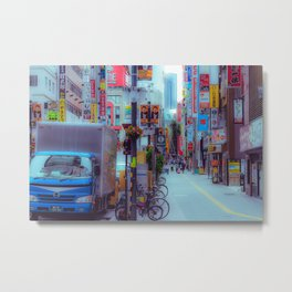 Before The Commute Metal Print