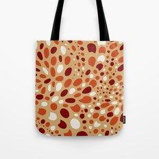 Mosaic Dots: Coral Island Tote Bag