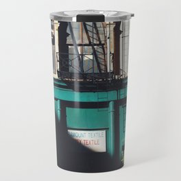 diagonal Travel Mug