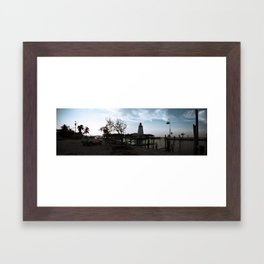 Marathon Lighthouse Framed Art Print