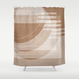 Stairs Heavenward in Shades of Cinnamon Shower Curtain