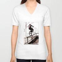 balance V-neck T-shirts featuring Balance by Jonas Ericson