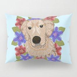 Golden Retriever Pillow Sham