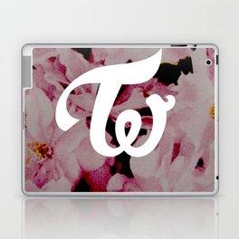 twice floral Laptop & iPad Skin