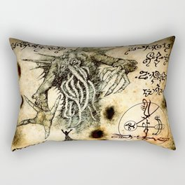 Cthulhu Rises Rectangular Pillow