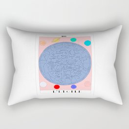 l'etoile - the star tarot card Rectangular Pillow