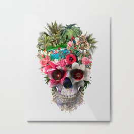 Summer Skull IV Metal Print