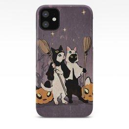 halloween cats iPhone Case