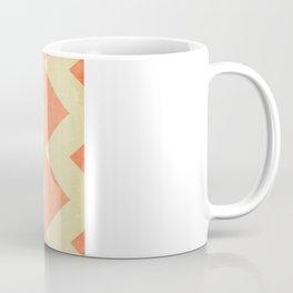Fuzzy Navel - Peach Chevron Coffee Mug