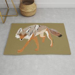 Totem Coyote Rug