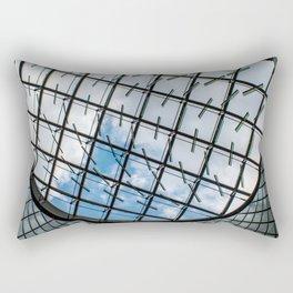 Fulton Station NYC Rectangular Pillow