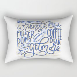 Drink Coffee Like a Gilmore Rectangular Pillow