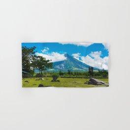 Mayon Volcano Hand & Bath Towel