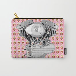 Portuguese Biker Collage for the ladies. Carry-All Pouch