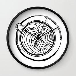 Cappuccino Lover Wall Clock