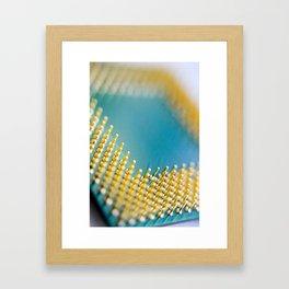 Process Framed Art Print