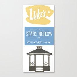 Luke's Diner Canvas Print