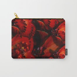 Inner Glow 4 Spiral Red Carry-All Pouch