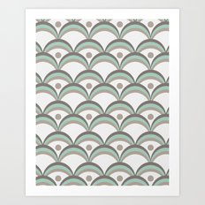 Scallops Art Print