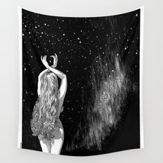 asc 604 - L'invocation à Vénus (Venus under the sky) Wall Tapestry