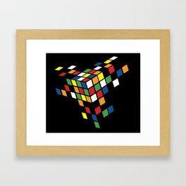 CUBED Framed Art Print
